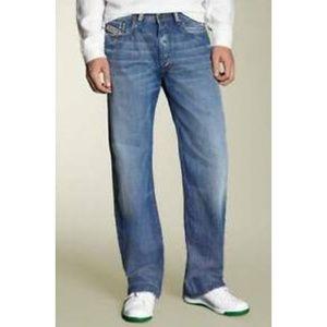 Diesel Kuratt Straight Leg Jeans.  Size 30. Italy